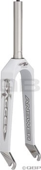 Answer Dagger Pro Fork Gloss White 1-1/8 Threadless by Answer (Image #1)