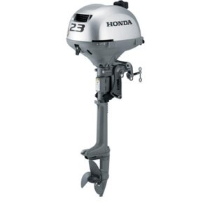 "Honda Marine BF2.3 2.3 HP Engine 20"" Shaft Gas Powered Outboard Motor for Sailboats and Skiffs"