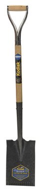 Ames Garden Spade D-Grip 30 '' Serrated 6-7/8 '' X 12 '' by Ames