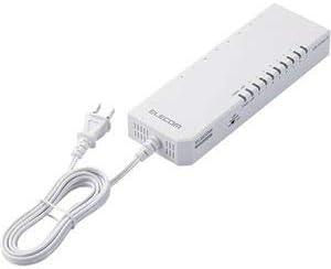 エレコム法人向け100BASE-TX対応TAP型スイッチングハブ 8ポート プラスチック筐体 ホワイト EHB-UF2A08-TP1台