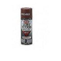 Duplicolor (DUPRTA9204) Krylon Rust Tough Enamel Paint, Ruddy Brown Primer, 12 oz Can, One Coat Coverage, Low -