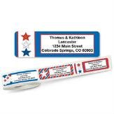 Star Spangled Rolled Address Labels with - Patriotic Address Labels Shopping Results