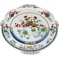 Seletti Hybrid Dorotea Round Tray - Porcelain - 13.78 Inches by Hybrid from Seletti