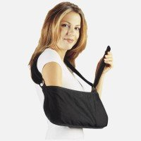 Hely & Weber Arm Sling with Padded Strap, Black, Small