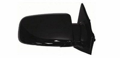 1988-1998 Chevy/Chevrolet Astro, GMC Safari Van Power Gloss Black Below Eyeline Type Rear View Mirror Right Passenger Side (1988 88 1989 89 1990 90 1991 91 1992 92 1993 93 1994 94 1995 95 1996 96 1997 97 1998 98) (Black Power Van Mirror Safari)