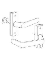 Adams Rite 4568-501-121 Aluminum Door Trim, 5'' Length