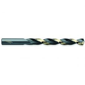 Triumph Twist Drill Thunderbit Style T1HD HSS Jobbers Drill Black & Bronze Oxide 21/64'' 6 Pack - Pkg Qty 6, (Sold in packages of 6) by Triumph Twist Drill