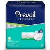 Prevail Maximum Absorbency Underwear, 2X-Large, Case/48 (4/12s) by FirstQualityProducts (Image #1)