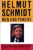 Men and Powers, Helmut D. Schmidt, 0394569946