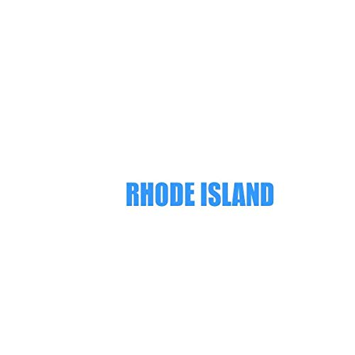 DIYthinker Rhode Island America City Coaster Cup Mug Square Holder Absorbent Stone 2pcs ()