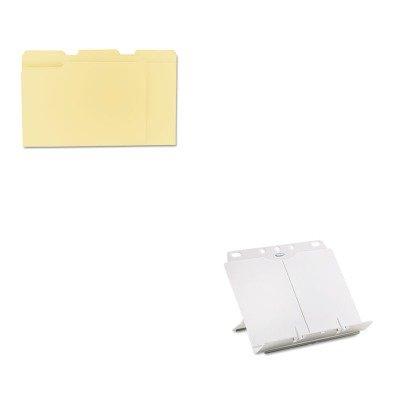 - KITFEL21100UNV12113 - Value Kit - Fellowes BookLift Adjustable Desktop Copyholder (FEL21100) and Universal File Folders (UNV12113)