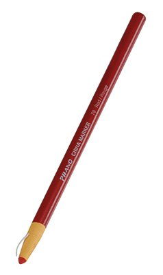 Dixon Phano China Marker - Red (12 Markers) - AB-500-6-04R by Miller Supply Inc (Image #1)