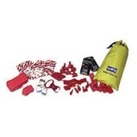 Lockout/Tagout Kit Includes: -1 Nylon Carrying Bag, -6 CB03, -6 CB01, -6 CB04, -6 ES01, -1 LP110, -1 LP550, -2 MS01, -1 666RD, -2 3D, -2 1DLJ, -10 ELA290 by North Safety