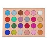 u KARA Beauty ES16 24 Color Galaxy Stardust Shimmer Glitter Powder Kit by uKARA