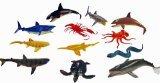 ~ 12 ~ Ocean Sea Animals Creatures ~ Plastic ~ up to 4.5
