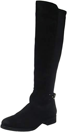 Tommy Stretch Hilfiger 990 Th black Black Buckle Boot High Women''s f1Yrf
