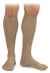 BSN Medical/Jobst H3501 Activa Men's Dress Sock, Knee High, Firm Support, 20-30 mmHg, Small, Tan, Pair