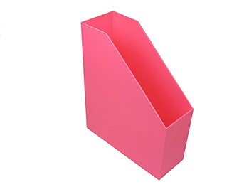 File Hot (Romanoff Products Magazine File Hot Pink 9.5X3.5X11.5)