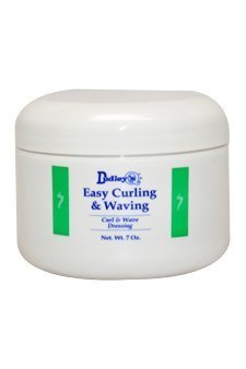 Dudley's Easy Curling and Waving Dressing Wax for Unisex, 7 Ounce