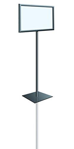 Adjustable Pedestal Sign Holder Floor Stand, 8 1/2