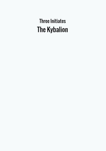 Download The Kybalion ebook