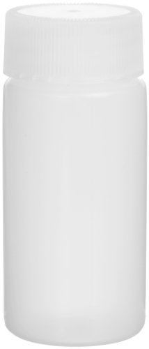 Liquid Polyethylene - Wheaton 986704 HDPE 20mL Liquid Scintillation Vial, with Polyethylene Linerless Lined Screw Cap Attached (Case of 500)