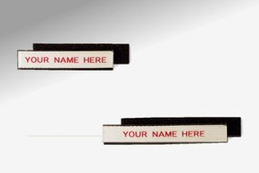 Charnstrom 3 W x 0.5 H Inches Removable Shelf Label Velcro Backed, Pack of 25 (L22) by Charnstrom