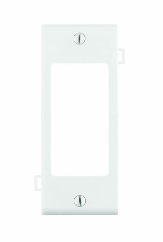 Leviton PSC26-W Sectional Wall Plate, Decora Middle Section, White