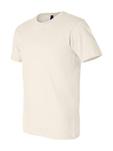 (Bella + Canvas Unisex Jersey Short Sleeve Tee (Natural) (S))