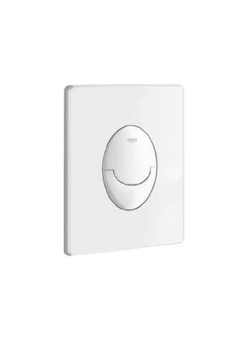 GROHE GRO38964SH0 Start Push Plate - White - Clear