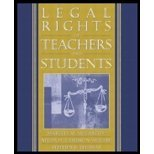 img - for Legal Rights of Teachers & Students (04) by McCarthy, Martha M - Cambron-McCabe, Nelda H - Thomas, Steph [Paperback (2003)] book / textbook / text book
