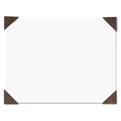 House of Doolittle Products - House of Doolittle - Doodle Desk Pad, 50-Sheet White Pad, Refillable, 22 x 17, Brown - Sold As 1 Each - Guiltless doodling on 100% recycled paper! - Great for jotting down ideas and reminders so thoughts don