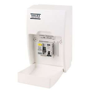 21dwJXv431L volex fully insulated rcd board shower unit amazon co uk diy & tools volex consumer unit wiring diagram at mifinder.co