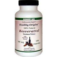 Healthy Origins Resveratrol 300Mg 150 Vcap