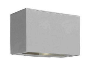 Atlantis Titanium Outdoor Wall Light - 5