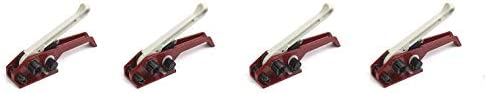 """PAC Strapping PST34 Plastic Strap General Use Manual Tensioner, for 3/4"""" Wide Strap (4-(Pack))"""
