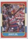 Manute Bol (Basketball Card) 1986-87 Fleer - [Base] #12