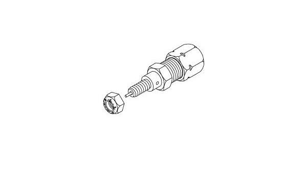 Pressure Relief Valve for Apollo//Midmark mounting Hole CMV060 Fits 1//4 Dia