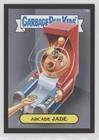 (Arcarde Jade (Trading Card) 2014 Topps Garbage Pail Kids Series 2 - [Base] - Canvas Texture #73b)