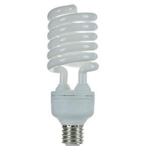 Pack of 4 CFL 65 Watt High Wattage T5 Spiral, Medium Base, 2700K Warm White
