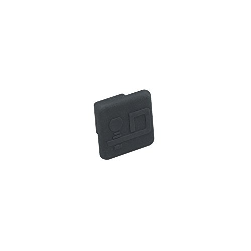 Draw-Tite Rubber Receiver Tube Cover with Logo for 1-1/4-Inch Receivers