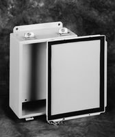 Hoffman A6P6 Conductive Panels for JIC Enclosure, Steel/Aluminum, J Box/4.88 x 4.88, Fits 6 x 6, White by - Enclosure Jic