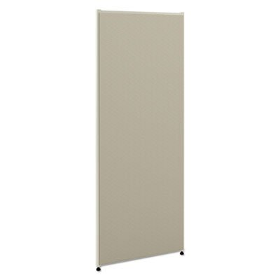 Vers Office Panel, 30w x 60h, Gray, Sold as 1 Each by Generic