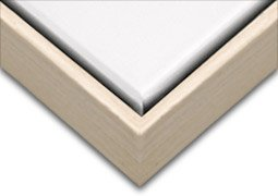 Creative Mark Illusions Wood Floater Frame for 3/4 Inch Canvas (24 Natural Wood)