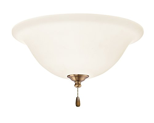 Emerson Ceiling Fans LK74AB Opal Matte Light Fixture for Ceiling Fans, Medium Base CFL