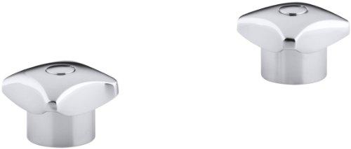 KOHLER K-16010-2-CP Triton Standard Handles, Polished Chrome