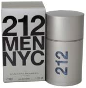 212 By Carolina Herrera For Men. Eau De Toilette Spray 1.7 Ounces