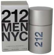 212 By Carolina Herrera For Men. Eau De Toilette Spray 1.7 Ounces