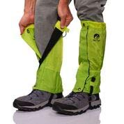 Pike Trail Leg Gaiters - Waterproof and Adjustable Snow Boot Gaiters for Hiking, Walking, Hunting, Mountain Climbing and Snowshoeing (Neon Green)