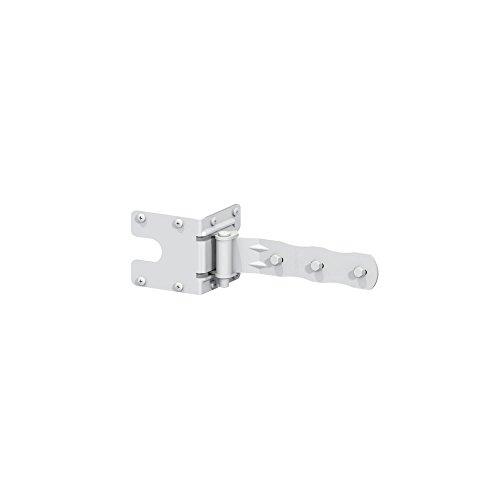 Boerboel 73002181 Standard Strap Hinge, White (Gate Steel Hinges)